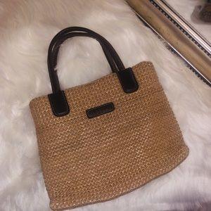 MINI purse boho rattan straw bag 90s style